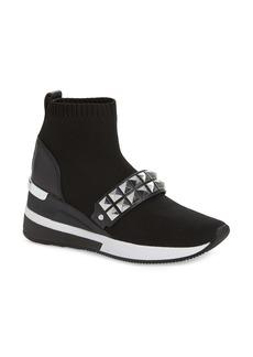 MICHAEL Michael Kors Skyler Embellished Wedge Bootie Sneaker (Women)