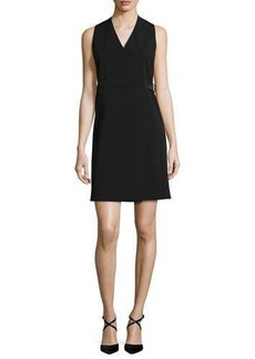 MICHAEL Michael Kors Sleeveless Belted Wrap Dress
