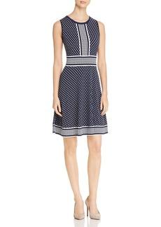 MICHAEL Michael Kors Sleeveless Dotted Knit Dress