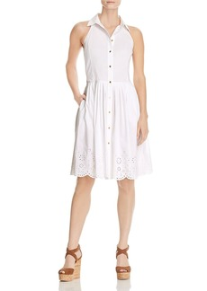 MICHAEL Michael Kors Sleeveless Eyelet Dress - 100% Exclusive