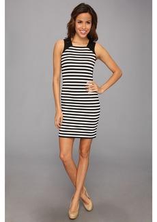MICHAEL Michael Kors Sleeveless Fulham Stripe Color Block Dress