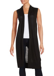 MICHAEL MICHAEL KORS Sleeveless Knit Duster