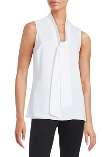 MICHAEL MICHAEL KORS Sleeveless Tie Top