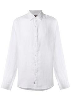 Michael Michael Kors slim-fit linen shirt - White