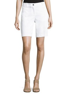 MICHAEL Michael Kors Slim Twill Shorts