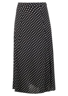 MICHAEL Michael Kors Slit Front Skirt