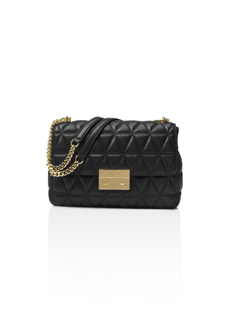 d4a3aa2ede80 MICHAEL Michael Kors Sloan Chain Quilted Extra-Large Leather Shoulder Bag