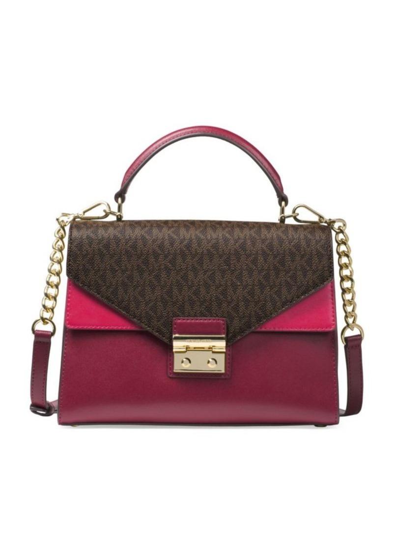 01693f93749b0 MICHAEL Michael Kors MICHAEL MICHAEL KORS Sloan Crossbody Leather ...