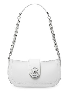 MICHAEL Michael Kors Small Carmen Leather Pouchette Shoulder Bag