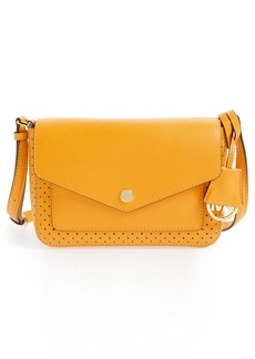 MICHAEL Michael Kors 'Small Greenwich' Perforated Leather Crossbody Bag