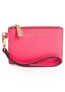 MICHAEL Michael Kors Small Mercer Leather RFID Coin Purse