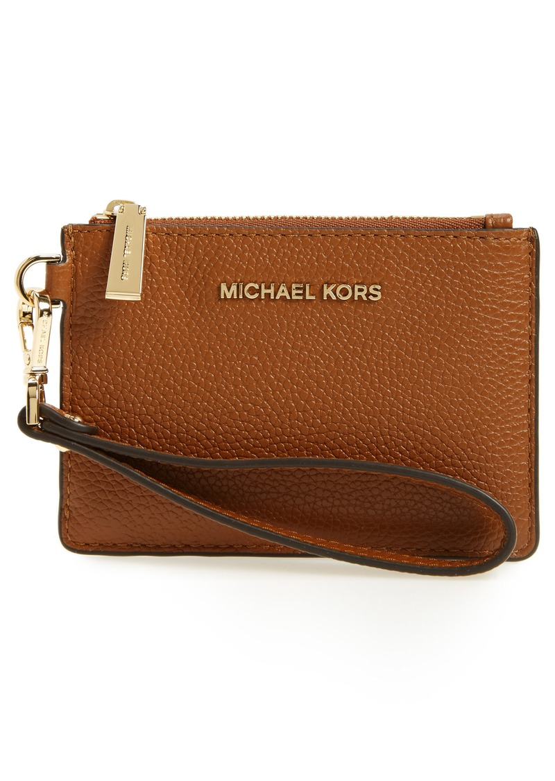 ba640aca4f50 MICHAEL Michael Kors MICHAEL Michael Kors Small Mercer Leather RFID ...
