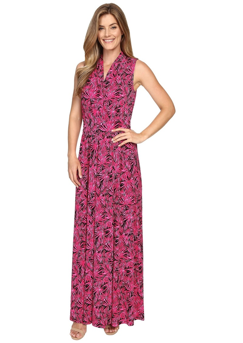 MICHAEL Michael Kors Small Pompano Slit Maxi Dress