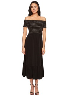 MICHAEL Michael Kors Smock Bodice Dress