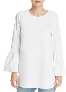 MICHAEL Michael Kors Smocked Bell Sleeve Tunic - 100% Exclusive