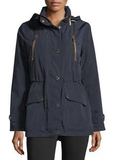 MICHAEL Michael Kors Snap-Front Anorak Jacket
