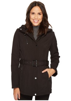 MICHAEL Michael Kors Snap Front Belted Softshell M522207C