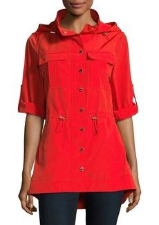 Calvin Klein Snap Hood Jacket