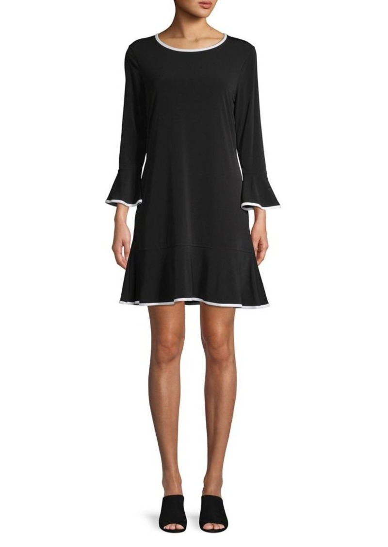 MICHAEL Michael Kors Solid Flounce Dress