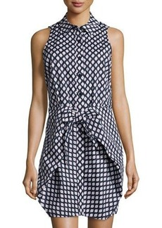 MICHAEL Michael Kors Southwestern-Print Knit Dress
