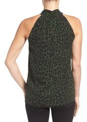 MICHAEL Michael Kors 'Spotted Cheetah' Bar Tank