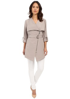MICHAEL Michael Kors Spread Collar Belted Trench M722060R