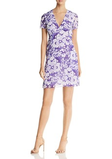 MICHAEL Michael Kors Spring Floral V-Neck Dress