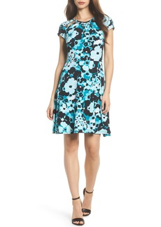MICHAEL Michael Kors Springtime Floral Cutout Dress