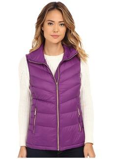 MICHAEL Michael Kors Stand Collar Packable Vest