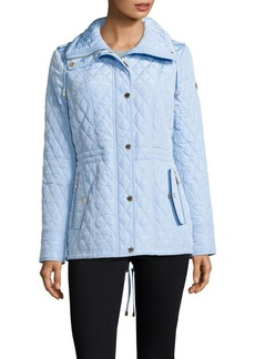 MICHAEL MICHAEL KORS Drawcord Quilted Jacket