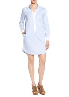 MICHAEL Michael Kors Stand Collar Shirtdress