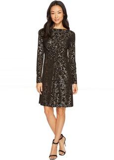 MICHAEL Michael Kors Star Foil Twist Dress