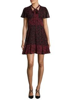 MICHAEL MICHAEL KORS Star Mix A-Line Dress