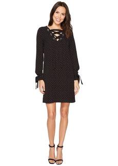 MICHAEL Michael Kors Starbright Lace-Up Dress