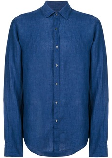 Michael Michael Kors straight-fit shirt - Blue