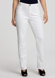 MICHAEL Michael Kors Straight Jeans in White