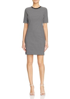 MICHAEL Michael Kors Stripe Crewneck Dress