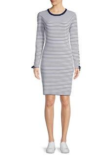MICHAEL Michael Kors Striped Sheath Dress