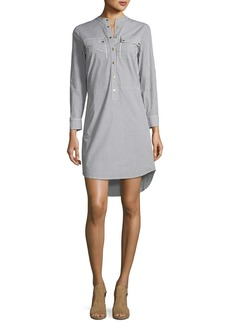 MICHAEL Michael Kors Striped Button-Down Dress