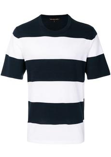 Michael Michael Kors striped crew-neck T-shirt - Blue