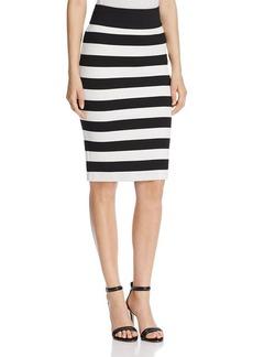 MICHAEL Michael Kors Striped Pencil Skirt - 100% Bloomingdale's Exclusive