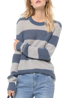MICHAEL Michael Kors Striped Rugby-Inspired Sweater