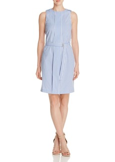 MICHAEL Michael Kors Striped Sheath Dress