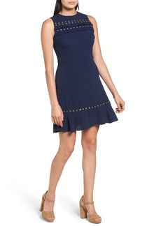 MICHAEL Michael Kors Studded A-Line Dress