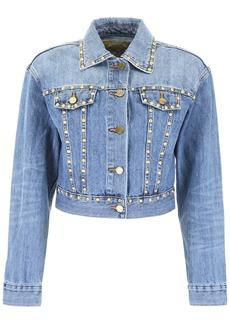 MICHAEL Michael Kors Studded Denim Jacket