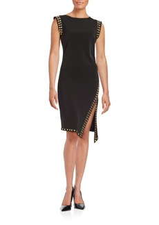 MICHAEL MICHAEL KORS Studded Knit Dress