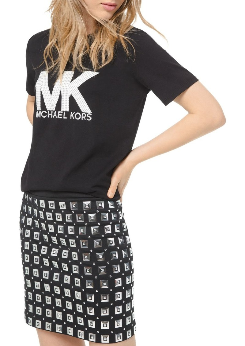 MICHAEL Michael Kors Studded Mini Skirt