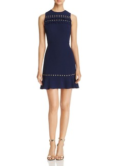 MICHAEL Michael Kors Studded Ruffle Dress