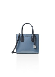 MICHAEL Michael Kors Studio Mercer Color Block Medium Patent Leather Messenger