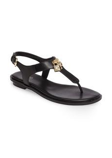 MICHAEL Michael Kors Suki T-Strap Charm Sandal (Women)